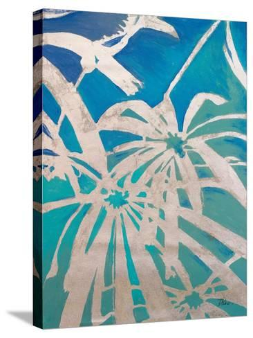 Silver Palms I-Patricia Pinto-Stretched Canvas Print