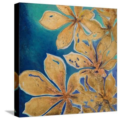 Fiori d' Oro II-Patricia Pinto-Stretched Canvas Print