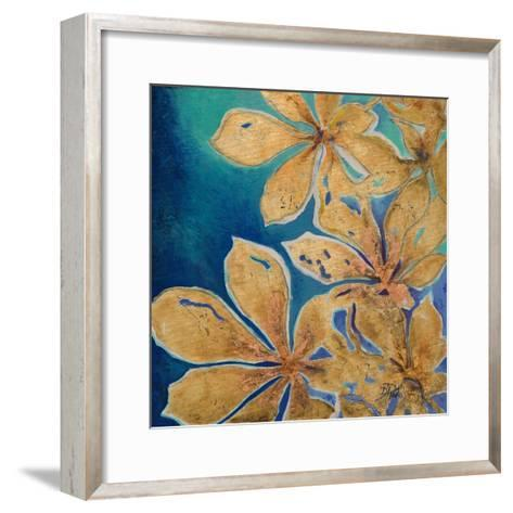 Fiori d' Oro II-Patricia Pinto-Framed Art Print
