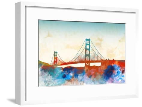 Golden Gate-Dan Meneely-Framed Art Print