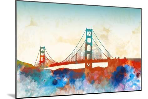 Golden Gate-Dan Meneely-Mounted Art Print