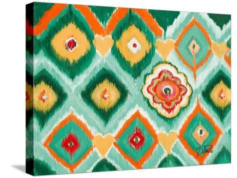 Tropical Ikat I-Patricia Pinto-Stretched Canvas Print
