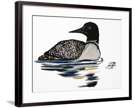 A Day Beside the Lake II-Julie DeRice-Framed Art Print