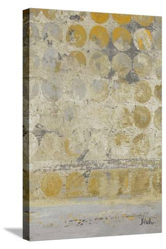 Dots on Gold II-Patricia Pinto-Stretched Canvas Print