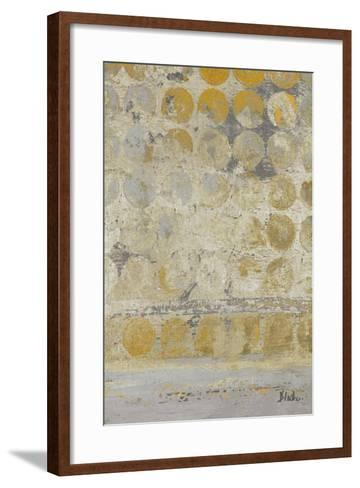 Dots on Gold II-Patricia Pinto-Framed Art Print