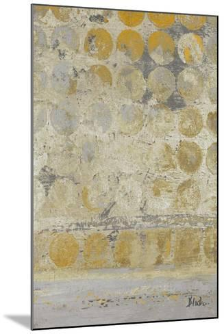 Dots on Gold II-Patricia Pinto-Mounted Premium Giclee Print