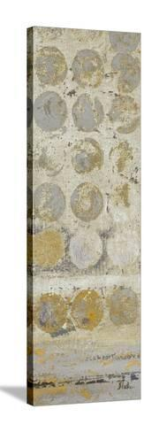 Dots on Gold Panel I-Patricia Pinto-Stretched Canvas Print