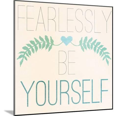 Fab Self II (Fearlessly Be Yourself)-SD Graphics Studio-Mounted Premium Giclee Print