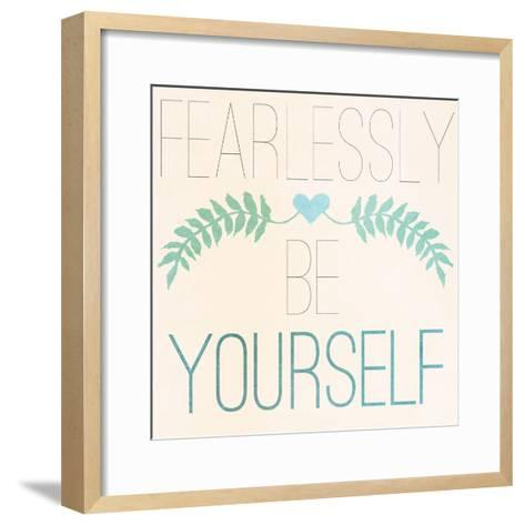 Fab Self II (Fearlessly Be Yourself)-SD Graphics Studio-Framed Art Print
