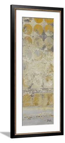 Dots on Gold Panel II-Patricia Pinto-Framed Art Print