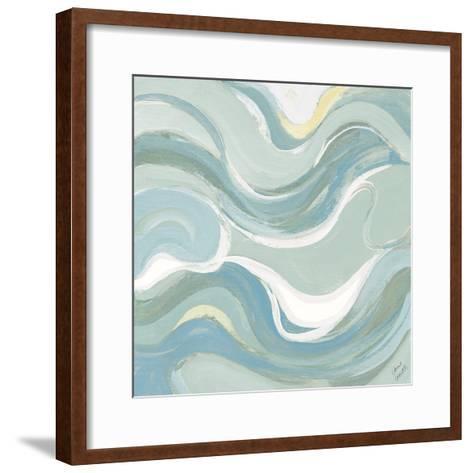 Coastal Curvilinear II-Lanie Loreth-Framed Art Print