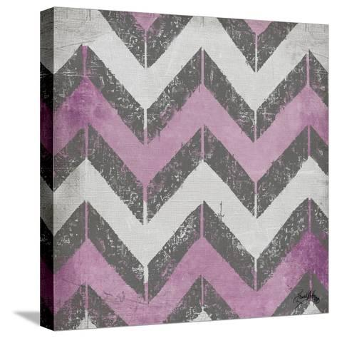 Purple Modele I-Elizabeth Medley-Stretched Canvas Print