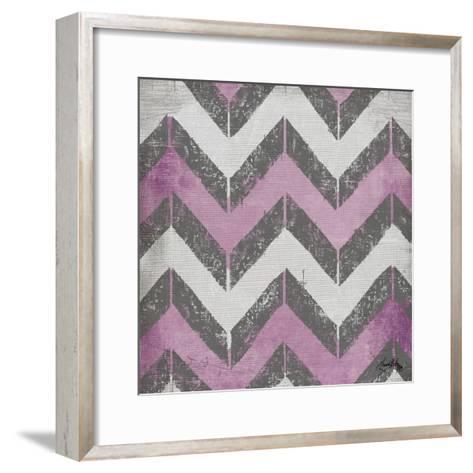 Purple Modele I-Elizabeth Medley-Framed Art Print