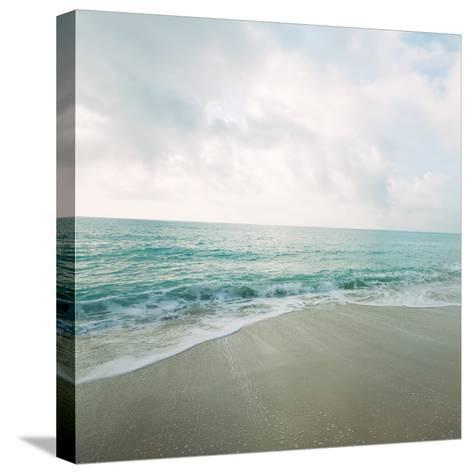 Beach Scene II-Susan Bryant-Stretched Canvas Print