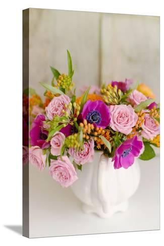 Radiant Bouquet-Sarah Gardner-Stretched Canvas Print