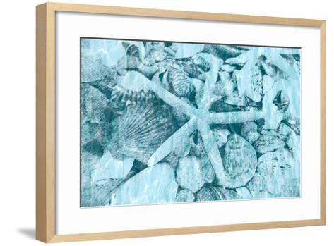 East Coast Shells II-Jairo Rodriguez-Framed Art Print