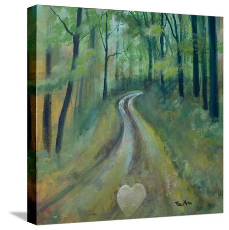 Heart on the Path-Robin Maria-Stretched Canvas Print