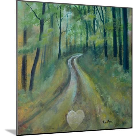 Heart on the Path-Robin Maria-Mounted Art Print