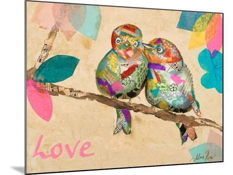 Band of Inspired Birds I (Love)-Gina Ritter-Mounted Art Print