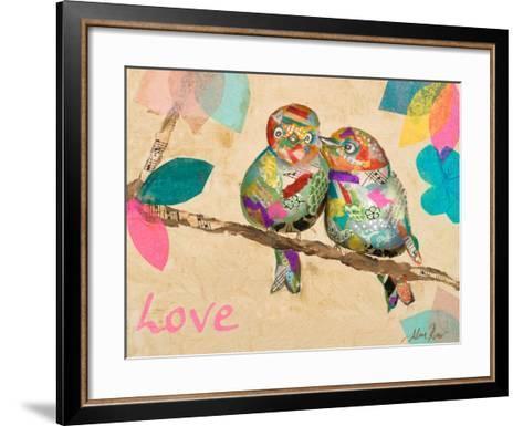 Band of Inspired Birds I (Love)-Gina Ritter-Framed Art Print