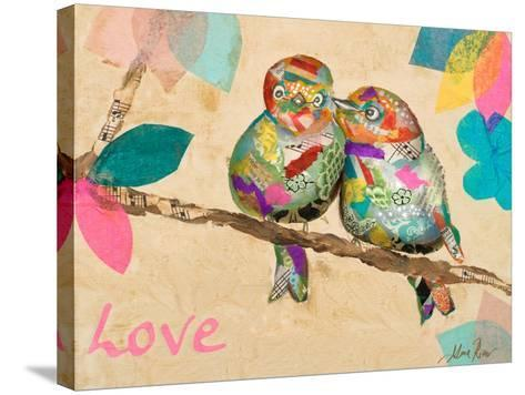 Band of Inspired Birds I (Love)-Gina Ritter-Stretched Canvas Print