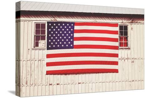 American Barn-Gail Peck-Stretched Canvas Print