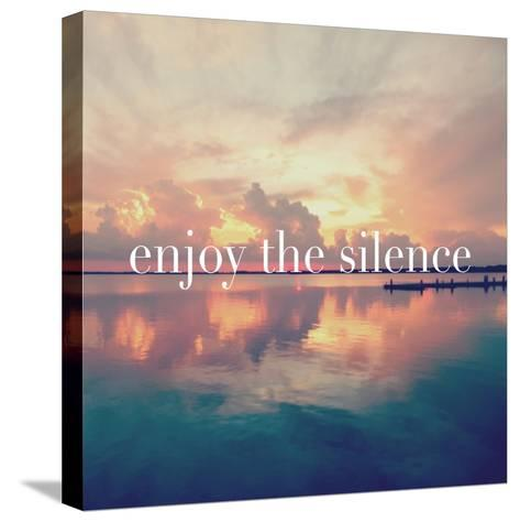 Enjoy the Silence-Bruce Nawrocke-Stretched Canvas Print