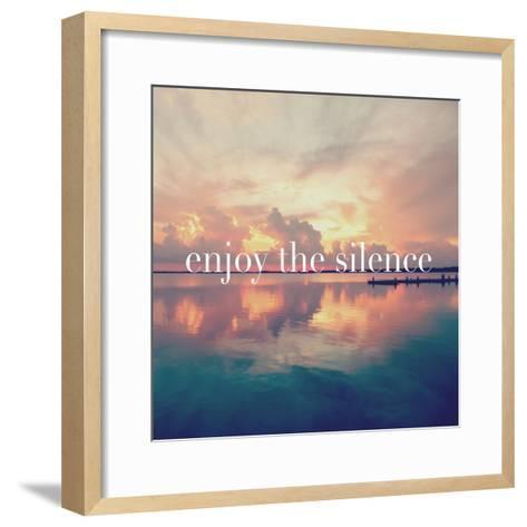 Enjoy the Silence-Bruce Nawrocke-Framed Art Print