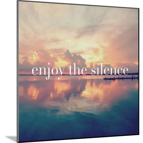 Enjoy the Silence-Bruce Nawrocke-Mounted Premium Giclee Print