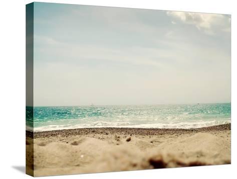 British Coast-Sarah Gardner-Stretched Canvas Print