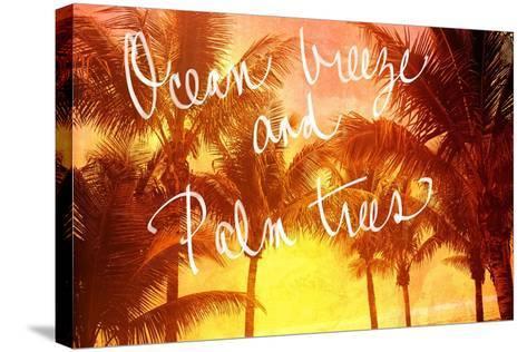 Ocean Breeze-Susan Bryant-Stretched Canvas Print