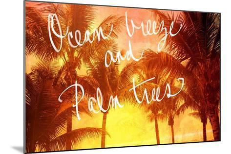 Ocean Breeze-Susan Bryant-Mounted Art Print