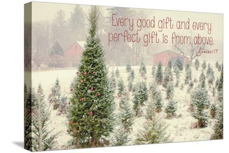 Holiday Messages I-Kelly Poynter-Stretched Canvas Print