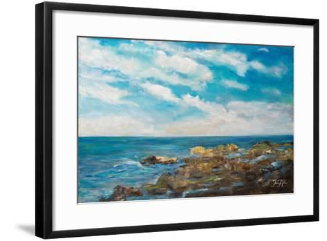 Into the Horizon I-Julie DeRice-Framed Art Print