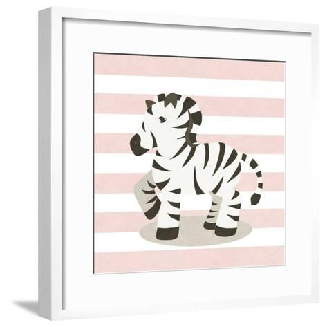 Happy Baby Animals II-SD Graphics Studio-Framed Art Print