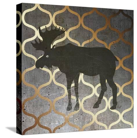 Metallic Nature IV-Andi Metz-Stretched Canvas Print