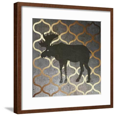Metallic Nature IV-Andi Metz-Framed Art Print