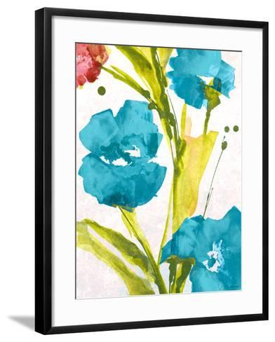 Blue and Pink le Povat I-Lanie Loreth-Framed Art Print