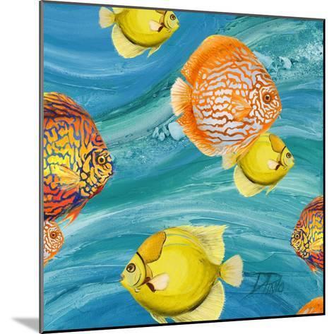 Aquatic Sea Life I-Patricia Pinto-Mounted Premium Giclee Print