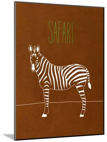 Safari Animal II-Modern Kat-Mounted Premium Giclee Print