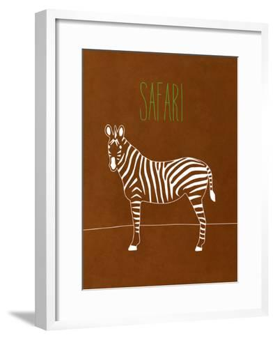 Safari Animal II-Modern Kat-Framed Art Print