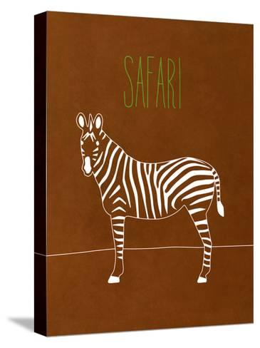 Safari Animal II-Modern Kat-Stretched Canvas Print