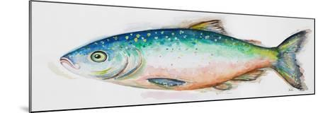 Watercolor Fish I-Patrcia Pinto-Mounted Premium Giclee Print