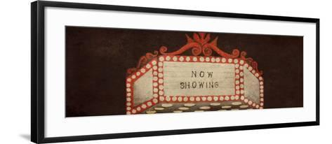 Now Showing Marquee-Gina Ritter-Framed Art Print