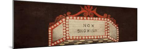 Now Showing Marquee-Gina Ritter-Mounted Premium Giclee Print