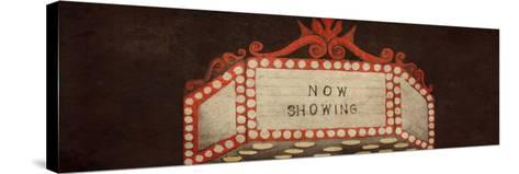 Now Showing Marquee-Gina Ritter-Stretched Canvas Print