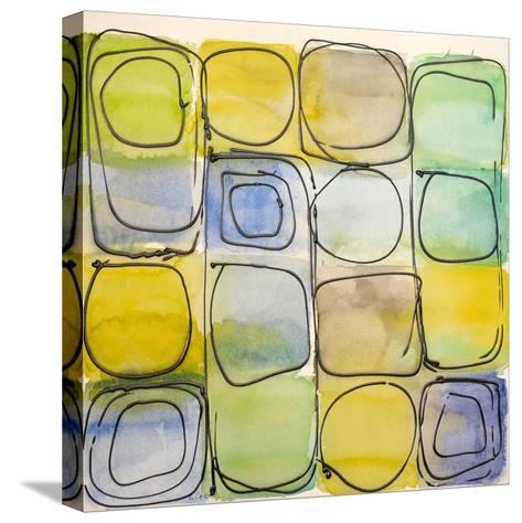 Circular Square I-Lanie Loreth-Stretched Canvas Print