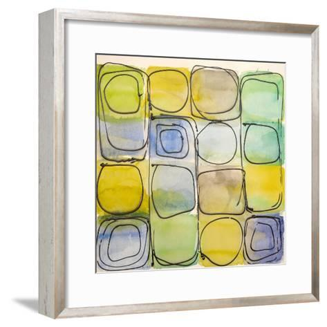 Circular Square I-Lanie Loreth-Framed Art Print