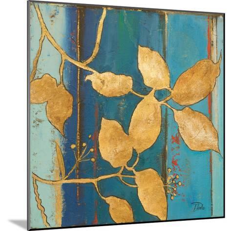 Golden Blue II-Patricia Pinto-Mounted Art Print