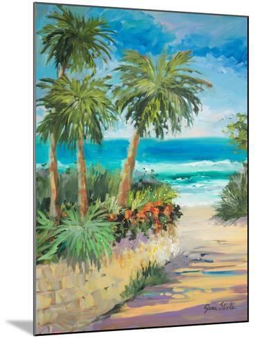 Palm Path-Jane Slivka-Mounted Premium Giclee Print